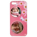 Pink Daisy Apple iPhone 5 Hardshell Case