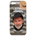Old Tin Apple iPhone 5 Hardshell Case