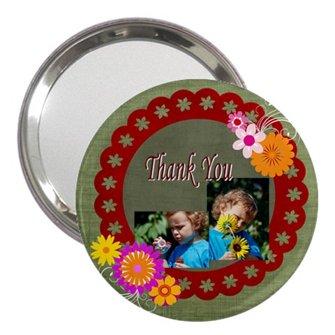 Thank You By Jacob   3  Handbag Mirror   20p5r7ldruzx   Www Artscow Com Front