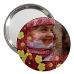 Cute 3  handbag Mirror