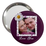 Love You 3  Handbag Mirror