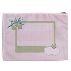Princess Cosmetics Bag By Shelly   Cosmetic Bag (xxl)   Hy448aqlz48t   Www Artscow Com Back