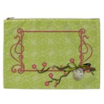 Chinese Blossoms Cosmetic Bag - Cosmetic Bag (XXL)
