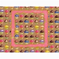 Cupcake Lemon Frosting 2015 Calendar By Catvinnat   Wall Calendar 11  X 8 5  (12 Months)   655nhfv8ybpv   Www Artscow Com Month