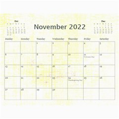 Cupcake Lemon Frosting 2015 Calendar By Catvinnat   Wall Calendar 11  X 8 5  (12 Months)   655nhfv8ybpv   Www Artscow Com Nov 2015