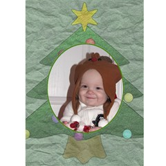 Noel 5x7 Greeting Card By Lil    Greeting Card 5  X 7    Pcog97wspomj   Www Artscow Com Front Inside