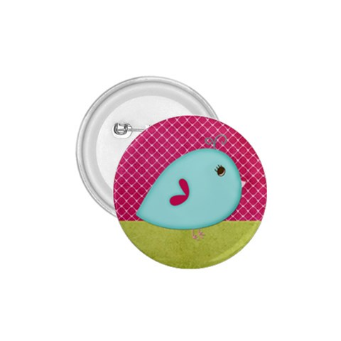 Birdie Badge By Kate   1 75  Button   Chlpf8hc4h68   Www Artscow Com Front