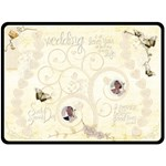 Heirloom Wedding Extra Large Fleece Blanket - Fleece Blanket (Large)