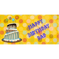 Stew Card By Kiarne Randall   Happy Birthday 3d Greeting Card (8x4)   2q839ggfjvqr   Www Artscow Com Front