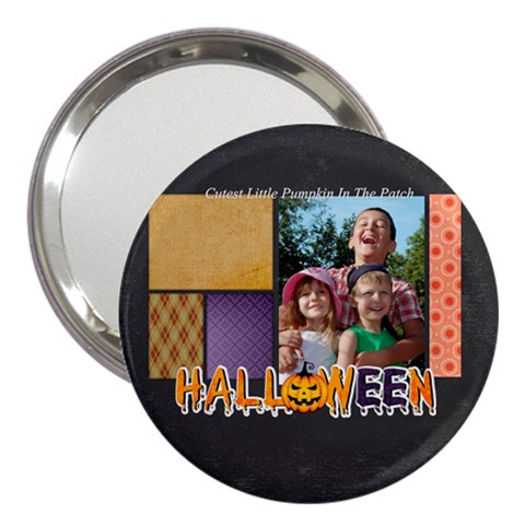 Halloween By Joely   3  Handbag Mirror   U2faouucr4yt   Www Artscow Com Front