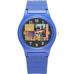 halloween - Round Plastic Sport Watch (S)