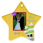 Arayas 1st Christmas - Ornament (Star)