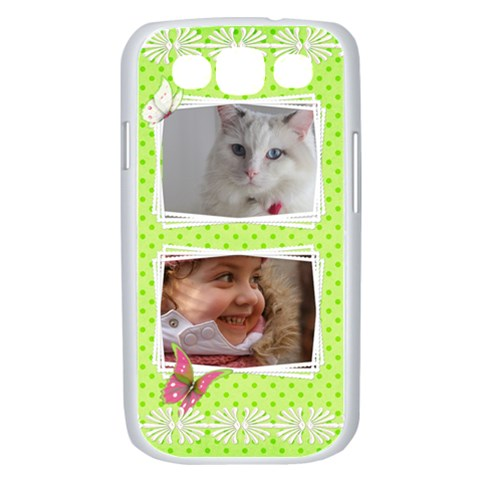 Princess Samsung Galaxy S Iii Case (white) By Deborah   Samsung Galaxy S Iii Case (white)   Ae4ad41mu59j   Www Artscow Com Front