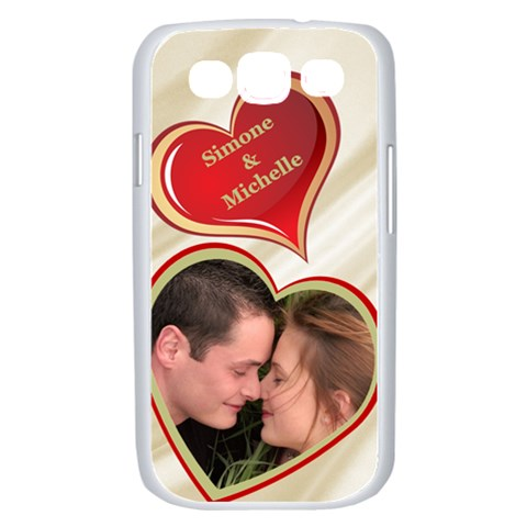 My Heart Samsung Galaxy S Iii Case (white) By Deborah   Samsung Galaxy S Iii Case (white)   Z4oivkqvlyq7   Www Artscow Com Front