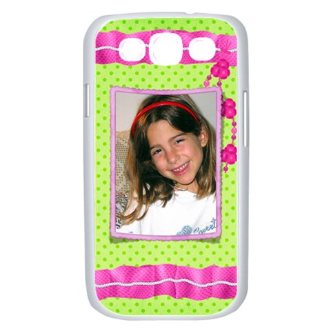 Girl Samsung Galaxy S Iii Case (white) By Deborah   Samsung Galaxy S Iii Case (white)   Er0yzx7y5wff   Www Artscow Com Front
