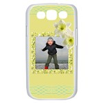 Lemon and Lime Samsung Galaxy S III Case (white)
