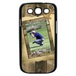 Timber Samsung galaxy S III Case (black)