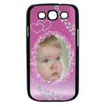 Diamond Pink Samsung Galaxy S III Case (black)