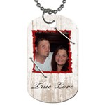 us - Dog Tag (One Side)