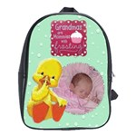 baby s overnight backpack for grandmas - School Bag (Large)