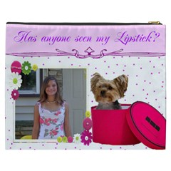 Yorkie Cosmetic Bag (xxxl) 2 Sides By Kim Blair   Cosmetic Bag (xxxl)   Ftzoqteqsq05   Www Artscow Com Back