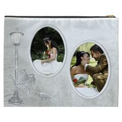 Love Cosmetic Bag (xxxl) By Deborah   Cosmetic Bag (xxxl)   3c8j3vijgl10   Www Artscow Com Back