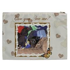 Stella Cosmetic Bag (xxl) By Kim Blair   Cosmetic Bag (xxl)   L5uifouooqq5   Www Artscow Com Back