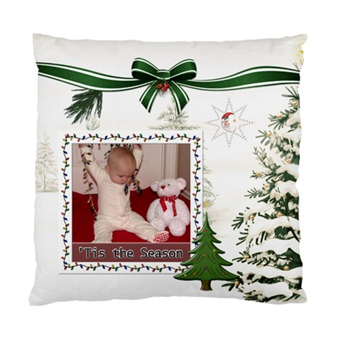 Tis The Season Cushion Case (1 Sided) By Lil    Standard Cushion Case (one Side)   Sj0l33gtn3sd   Www Artscow Com Front