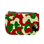 camo strawberries - Mini Coin Purse