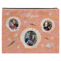 Cosmetic Bag (xxxl)   Seashells By Lmw   Cosmetic Bag (xxxl)   Bhviuc122e33   Www Artscow Com Back