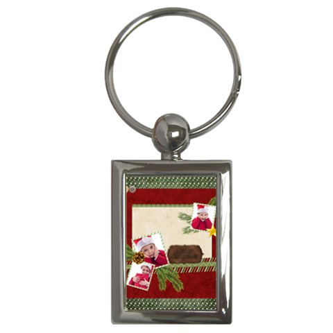 Xmas By Jacob   Key Chain (rectangle)   Hbdleqglhjkx   Www Artscow Com Front