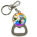 Tropical bottle Opener Key Chain