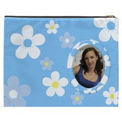 Daisy Cosmetic Bag (xxxl) By Deborah   Cosmetic Bag (xxxl)   Mjmqdoh5yma8   Www Artscow Com Back