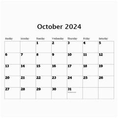 Marble 11x8 5 Wall Calendar By Deborah   Wall Calendar 11  X 8 5  (12 Months)   Dqfuzsmr5k46   Www Artscow Com Oct 2017