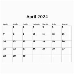 Marble 11x8 5 Wall Calendar By Deborah   Wall Calendar 11  X 8 5  (12 Months)   Dqfuzsmr5k46   Www Artscow Com Apr 2017