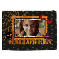 Halloween By Joely   Cosmetic Bag (xxl)   Sbhjrtf3qzmo   Www Artscow Com Back