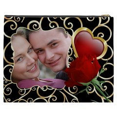 Sweet Love Cosmetic Bag Xxxl By Deborah   Cosmetic Bag (xxxl)   Xt7a8rtj5rwi   Www Artscow Com Back