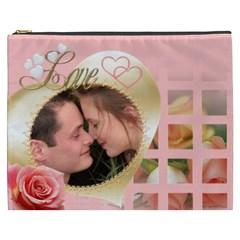 My Heart Cosmetic Bag Xxxl By Deborah   Cosmetic Bag (xxxl)   U2ce8bnojbp6   Www Artscow Com Front
