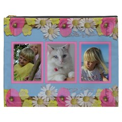 Little Princess Cosmetic Bag Xxxl By Deborah   Cosmetic Bag (xxxl)   Mwx7war0d4nx   Www Artscow Com Front