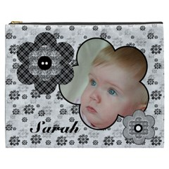 Black And White Selection Cosmetic Bag Xxxl By Deborah   Cosmetic Bag (xxxl)   O9a6gnzdexnl   Www Artscow Com Front