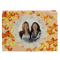 Butterflies Cosmetic Bag (xxl) 2 Sides By Kim Blair   Cosmetic Bag (xxl)   Gh8tgpwkddw9   Www Artscow Com Back