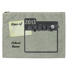 A4 Bag School By Shelly   Cosmetic Bag (xxl)   025fi9g9va9r   Www Artscow Com Front