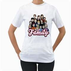 By Ann Mason   Women s T Shirt (white) (two Sided)   0rzjw468uei0   Www Artscow Com Front
