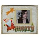 Merry Christmas  XXXL  Gift Cosmetics Bag - Cosmetic Bag (XXXL)