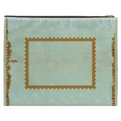 All Is Calm Xxxl  Gift Cosmetics Bag By Catvinnat   Cosmetic Bag (xxxl)   Ibf4web511mk   Www Artscow Com Back
