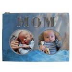 MOM Blue XXL Cosmetic Bag - Cosmetic Bag (XXL)