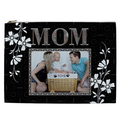 Mom Pretty Xxl Cosmetic Bag By Lil    Cosmetic Bag (xxl)   5byn03oza81b   Www Artscow Com Front