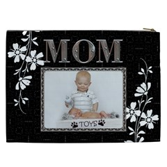 Mom Pretty Xxl Cosmetic Bag By Lil    Cosmetic Bag (xxl)   5byn03oza81b   Www Artscow Com Back