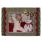 Christmas Joy XXL Cosmetic Bag - Cosmetic Bag (XXL)