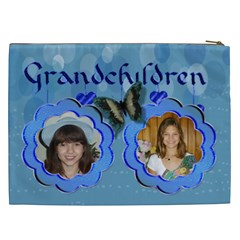 Grandchildren Cosmetic Bag (xxl) 2 Sides By Kim Blair   Cosmetic Bag (xxl)   Ercutgu5nry8   Www Artscow Com Back